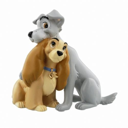 Disney Magical Moments Figurine Lady and the Tramp Collectable Ornaments 'You and Me' Gift